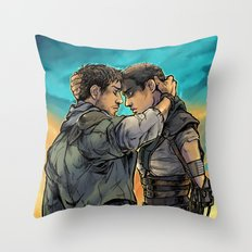 Say Goodbye Throw Pillow