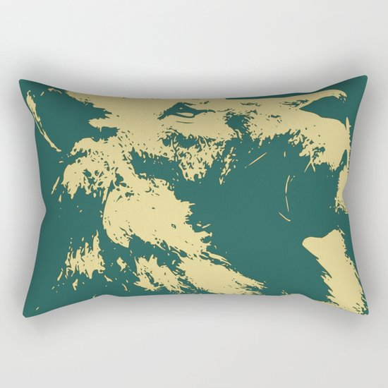 Lion Lion Rectangular Pillow