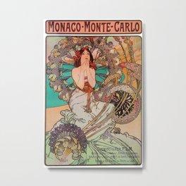 Monaco Monte Carlo Metal Print