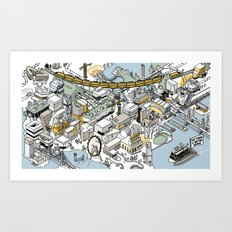 Arup Projects 2016 Art Print