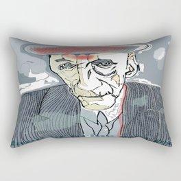 William S. Burroughs Rectangular Pillow