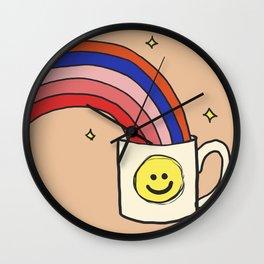 Cup of Joy Wall Clock