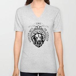 The Lion Conqueror  Unisex V-Neck