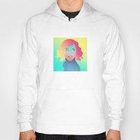 gradient Hoodies featuring Princess Gradient by maysgrafx