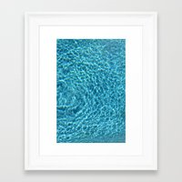 pool Framed Art Prints featuring Pool by Manuel Estrela 113 Art Miami