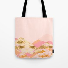 Graphic Mountains S Tote Bag