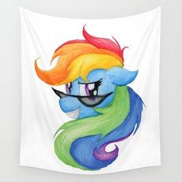 Rocky Rainbow Dash Wall Tapestry