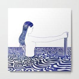 Water Nymph XXVI Metal Print