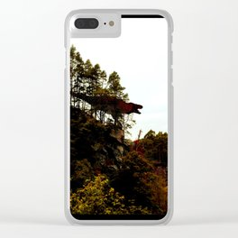 King of The Woods Clear iPhone Case