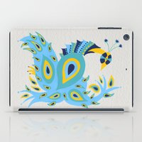 peacock iPad Cases featuring Peacock by Cat Coquillette