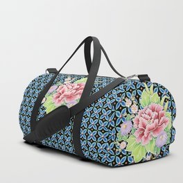 Brocade Bouquet Duffle Bag