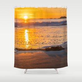 Seaweed Sunset Shower Curtain