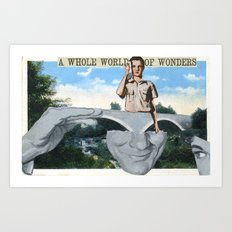 World Of Wonders Art Print