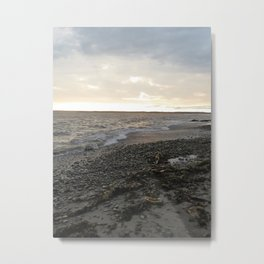 SEASIDE IN THE EARLY EVENING Metal Print