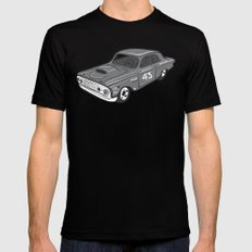 Stock Car 01 - Ted Schmilly Mens Fitted Tee Black X-LARGE