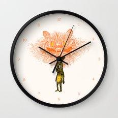 Scared Stiff Wall Clock