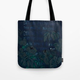 """Conquest of the Useless"" by Werner Herzog Print (v. 5) Tote Bag"