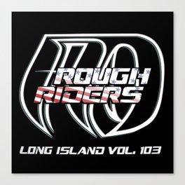 American Outlaws Rough Riders Long Island Vol. 103 Canvas Print