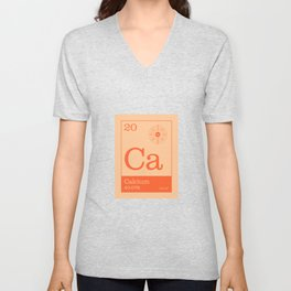 Periodic Elements - 20 Calcium (Ca) Unisex V-Neck