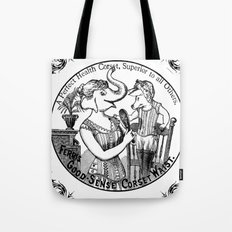 A perfect healt corset  Tote Bag