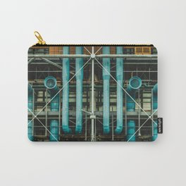 Pipes and vents - The Centre Pompidou, Paris Carry-All Pouch