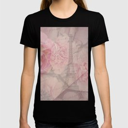 Parisian Romantic Collage T-shirt