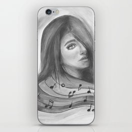 Undiscovered Melody Of the Life iPhone Skin