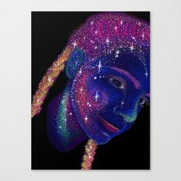 Star Braids Canvas Print