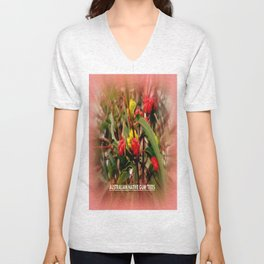 Australian Native Gum Trees Unisex V-Neck