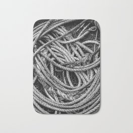 Coiled Rope Bath Mat