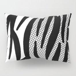 Timeless Zebra Pattern Abstract Pillow Sham