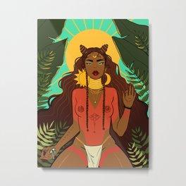 Goddess Series: Spiritual Being Metal Print