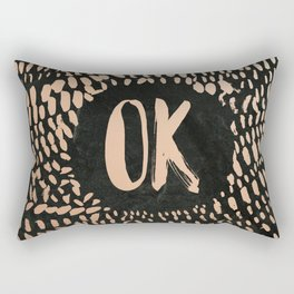 OK Rectangular Pillow
