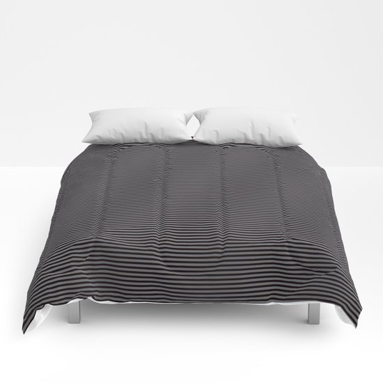 Soft Parisian Stripes Comforters