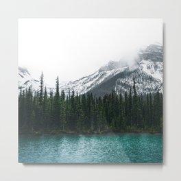 Forest | Maligne Lake Photography | Alberta | Mountains  Metal Print