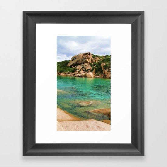 Sardgna  Framed Art Print