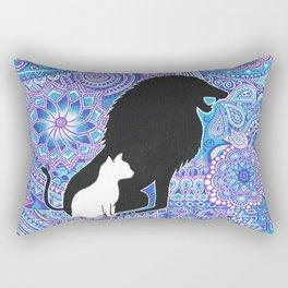 The lion's strength ! Rectangular Pillow
