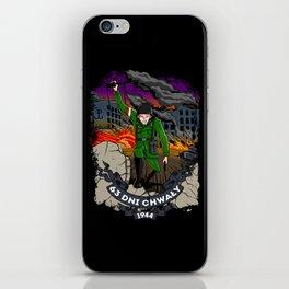 Warsaw Uprising iPhone Skin