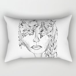 They Say Eyes Are Windows To Our Soul Rectangular Pillow