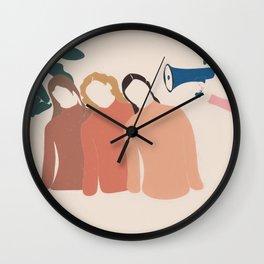 Friends Pop Art 4 Wall Clock