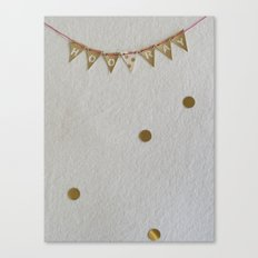 mini celebration Canvas Print