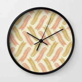 Pine Needles (Lush) Wall Clock