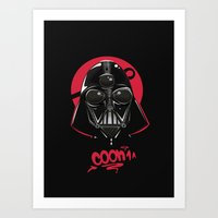 vader Art Prints featuring Vader by Max Dima