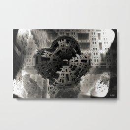 Fritz Lang In Love Metal Print