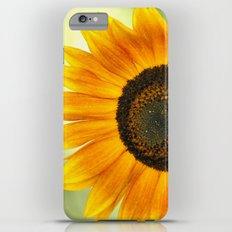BRIGHT SUNFLOWER iPhone 6s Plus Slim Case