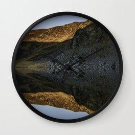 Wicklow Mountains Sunrise Wall Clock