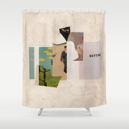 new setting Shower Curtain