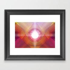 PRYSMIC ORBS Framed Art Print