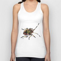 bug Tank Tops featuring Bug by MSRomeiro