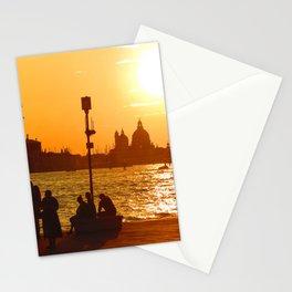 Sunset in Venice Stationery Cards